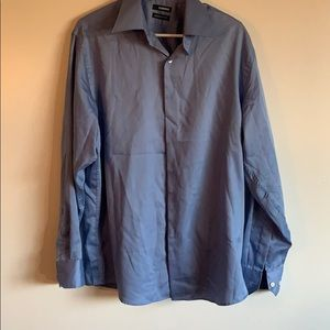 Claiborne blue dress shirt